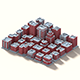 Low Poly Isometric Buildings Pack - 3DOcean Item for Sale