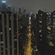 Fly Above Chicago Downtown in Night - VideoHive Item for Sale