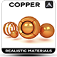 Copper Material - 3DOcean Item for Sale