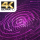 Techno Purple Lines Particles - VideoHive Item for Sale