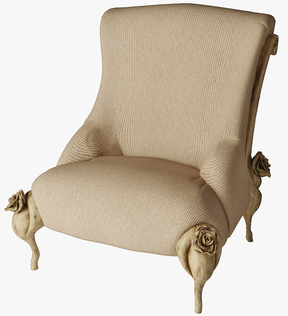 armchair BITOSSI LUCIANO 3264 - 3DOcean Item for Sale