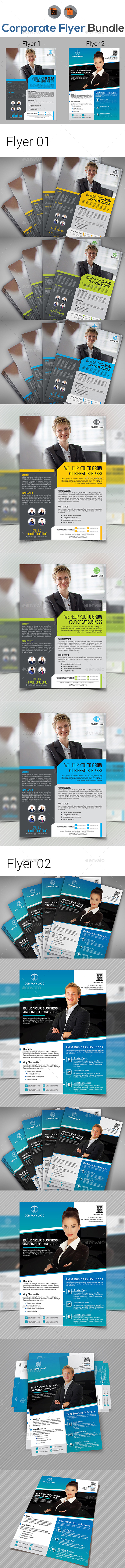 Corporate Business Flyer Bundle V3 - Corporate Flyers
