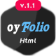 oyFolio - Responsive HTML Portfolio Template - ThemeForest Item for Sale