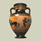 Pottery Ancient Greek v2 - 3DOcean Item for Sale