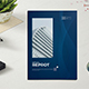 Abstract Annual Reprot Brochure - GraphicRiver Item for Sale