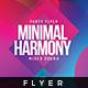 Minimal Harmony - Flyer Template