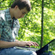 Teenager With A Laptop - VideoHive Item for Sale