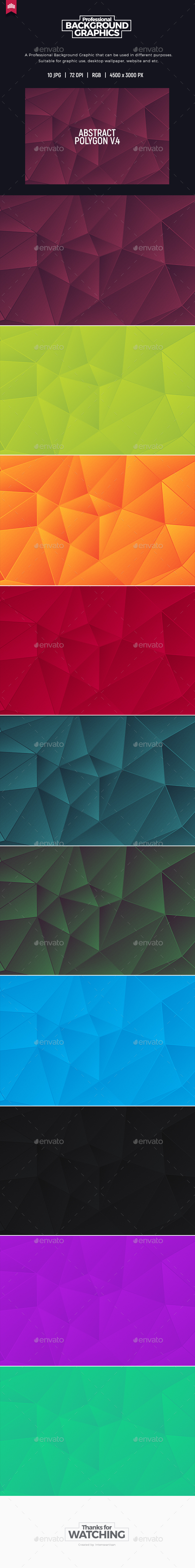 Abstract Polygon V.4 - Background - Abstract Backgrounds