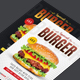 Burger Flyer Templates - GraphicRiver Item for Sale