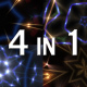 VJ Kaleido Backgrounds Pack 4 in 1 - VideoHive Item for Sale
