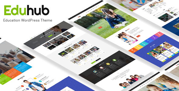 Eduhub – Responsive Sensei Education WordPress Theme