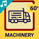 Machine and Machinery - Animated Icons and Elements