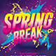 Spring Break Party | Flyer Template - GraphicRiver Item for Sale