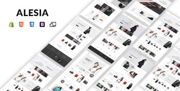 JMS Alesia - Premium Responsive Shopify Theme