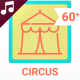 Circus Performance Elements - Animated Icons Package - VideoHive Item for Sale