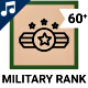 Military Rank - Animated Icon Set - VideoHive Item for Sale