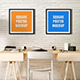 Square Poster Mock-Up - GraphicRiver Item for Sale