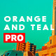 16 Orange and Teal Looks - GraphicRiver Item for Sale