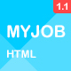 Myjob - Job Postings HTML5 Template - ThemeForest Item for Sale