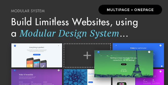 Modular Multi Concept Agency  Business WordPress Theme