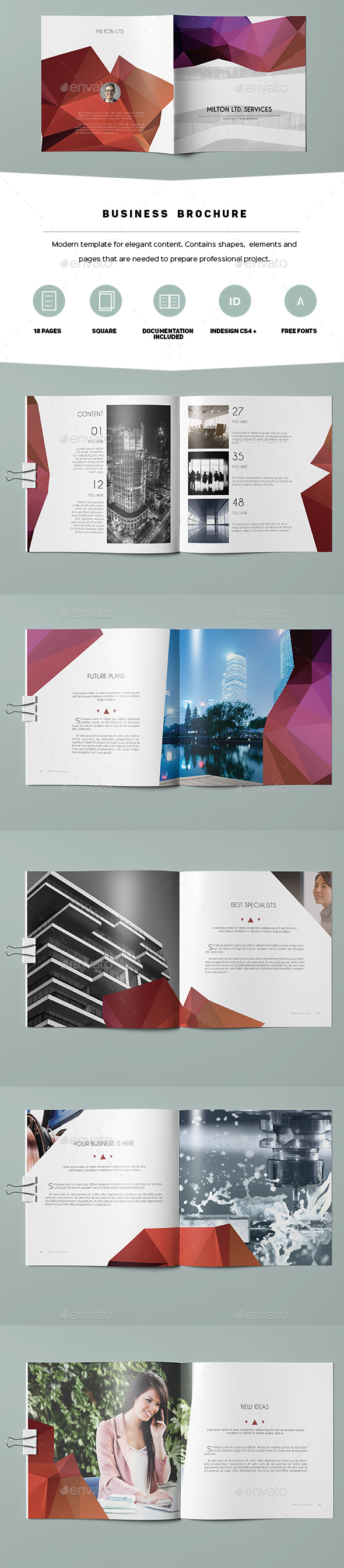 Multipurpose Business Brochure 04 - Corporate Brochures