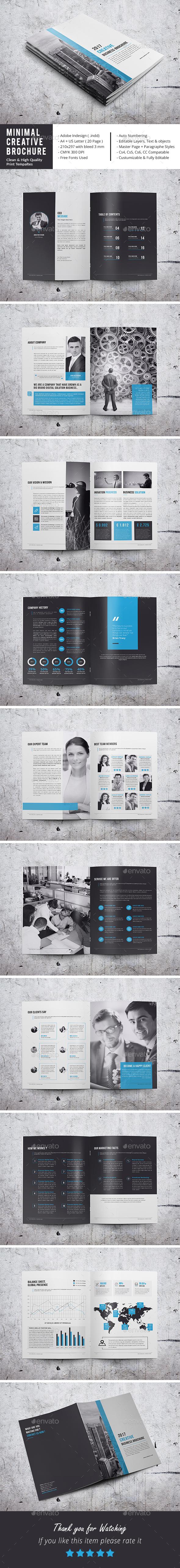 Minimal Corporate Brochure - Corporate Brochures