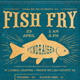 Fish Fry Event Flyer - GraphicRiver Item for Sale