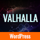Valhalla - A Responsive WordPress Blog Theme Nulled