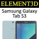 Element3D - Samsung Galaxy Tab S3 - 3DOcean Item for Sale