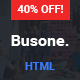 Busone - Ultimate Business Template for All Niche Nulled