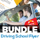 Driving School Flyers Bundle