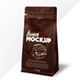 Coffee Pack Mock-up with Window - GraphicRiver Item for Sale