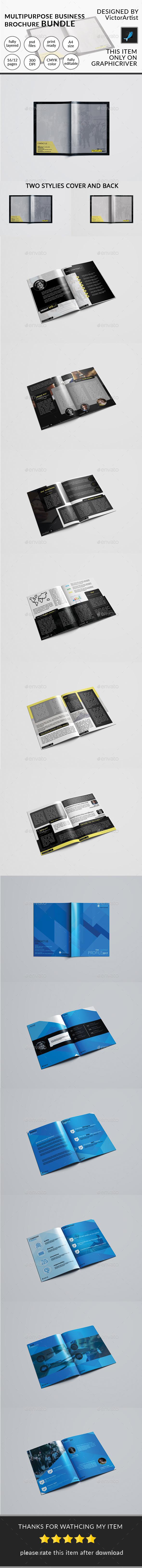 Company Brochure Bundel - Brochures Print Templates
