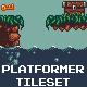 Platformer Pixel Art Tileset