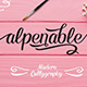 Alpenable + Swash - GraphicRiver Item for Sale