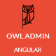 Owl Admin - Responsive Angular Admin Dashboard Template Nulled