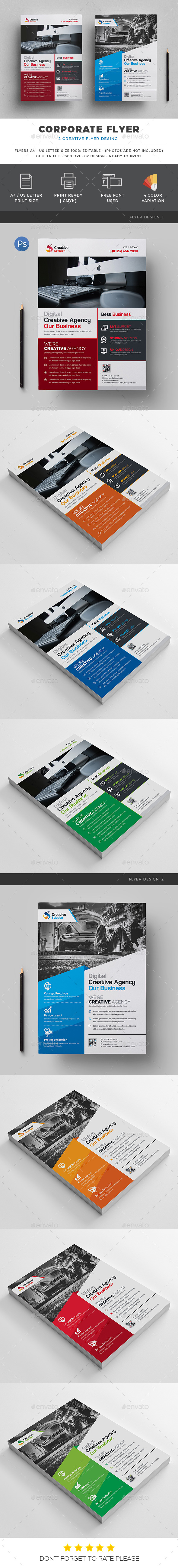 Corporate Flyer Design - Corporate Flyers