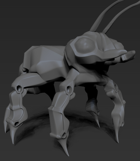 insect robot ant - 3DOcean Item for Sale