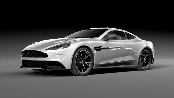Aston Martin Vanquish - 3DOcean Item for Sale
