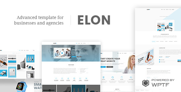 Elon - Businesses and agencies theme