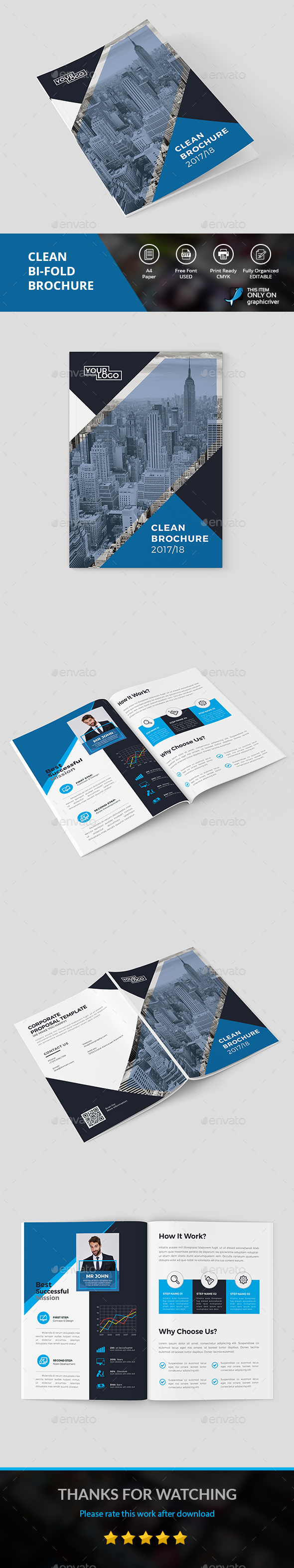 Clean Brochure - Corporate Brochures