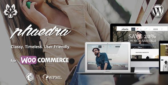 Phaedra - Responsive WooCommerce Theme