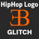 Hip-Hop Glitch Logo