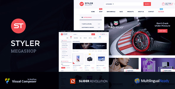 Styler – Mega Shop Woocommerce