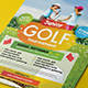 Kids Charity Golf Flyer - GraphicRiver Item for Sale