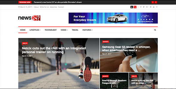 News247 – Responsive News Magazine Newspaper
