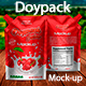 Doypack Mockup - GraphicRiver Item for Sale