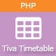 Tiva Timetable For PHP - CodeCanyon Item for Sale