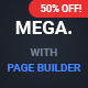 Mega - Multipurpose Responsive Template with Page Builder