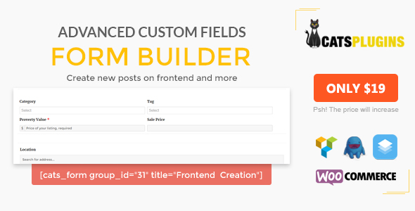 ACF Form Builder - Multipurpose Frontend Form Submission - CodeCanyon Item for Sale
